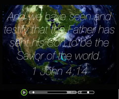 Savior of the World - Watch this short video clip